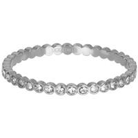 IXXXI JEWELRY RINGEN iXXXi Jewelry Vulring SMALL  CIRCLE STONE  2mm  Zilverkleurig