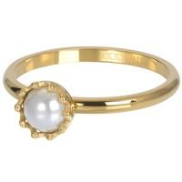 IXXXI JEWELRY RINGEN iXXXi Jewelry Vulring LITTLE PRINCESS  2mm  Goudkleurig
