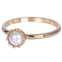 IXXXI JEWELRY RINGEN iXXXi Jewelry Washer LITTLE PRINCESS 2mm Rose gold colored