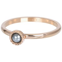 IXXXI JEWELRY RINGEN iXXXi Jewelry Vulring ROYAL GREY  2mm  Rosegoudkleurig
