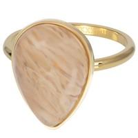 IXXXI JEWELRY RINGEN iXXXi Jewelry Vulring ROYAL STONE DROP  2mm  Goudkleurig