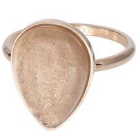 IXXXI JEWELRY RINGEN iXXXi Jewelry Vulring ROYAL STONE DROP  2mm  Rosegoudkleurig