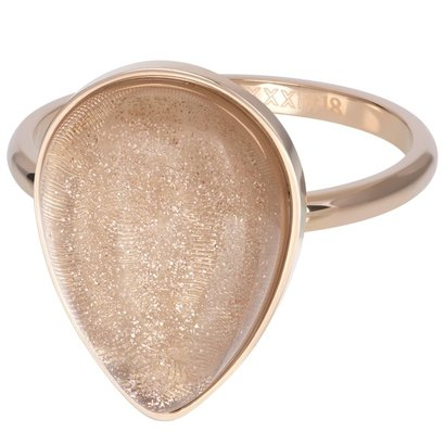 IXXXI JEWELRY RINGEN iXXXi Jewelry Washer ROYAL STONE DROP 2mm Rose gold colored -