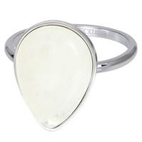 IXXXI JEWELRY RINGEN iXXXi Jewelry Washer ROYAL STONE DROP 2mm Silver colored