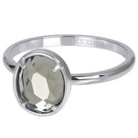 IXXXI JEWELRY RINGEN iXXXi Jewelry Vulring GLAM OVAL  2mm  Zilverkleurig