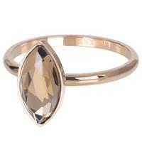 IXXXI JEWELRY RINGEN iXXXi Jewelry Vulring ROYAL DIAMOND  2mm  Rosegoudkleurig