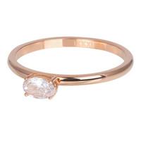 IXXXI JEWELRY RINGEN iXXXi Jewelry Vulring KING  2mm Rosegoudkleurig