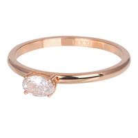 IXXXI JEWELRY RINGEN iXXXi Jewelry Washer KING 2mm Rose gold colored