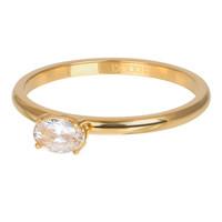 IXXXI JEWELRY RINGEN iXXXi Jewelry Vulring KING  2mm Goudkleurig