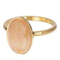 IXXXI JEWELRY RINGEN iXXXi Jewelry Vulring ROYAL QUEEN DROP  2mm Goudkleurig