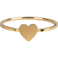 CHARMIN'S Charmins ring Oh My Love Steel Gold