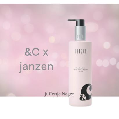JANZEN GEUREN &C  X JANZEN GEUREN BODYLOTION 250 ML