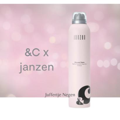 JANZEN GEUREN &C  X JANZEN GEUREN SHOWER FOAM 200 ML