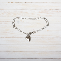 GO-DUTCH LABEL Go Dutch Label Bracelet with Heart Silver colored