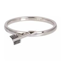 IXXXI JEWELRY RINGEN iXXXi Jewelry Vulring Arrow  2mm Zilverkleurig