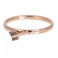 IXXXI JEWELRY RINGEN iXXXi Jewelry Vulring Arrow  2mm Rosegoudkleurig