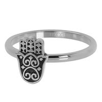 IXXXI JEWELRY RINGEN iXXXi Jewelry Vulring Boho Hand  2mm Zilverkleurig