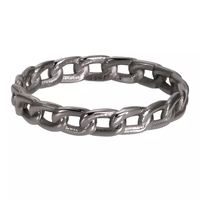 IXXXI JEWELRY RINGEN iXXXi Jewelry Vulring Enjoy  4mm Zilverkleurig