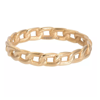 IXXXI JEWELRY RINGEN iXXXi Jewelry Vulring Enjoy  4mm Goudkleurig
