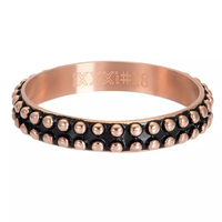 IXXXI JEWELRY RINGEN iXXXi Jewelry Washer Gipsy 4mm Rose gold colored