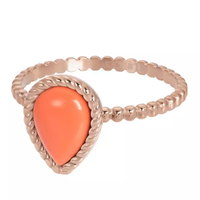 IXXXI JEWELRY RINGEN iXXXi Jewelry Washer Magic Coral 2mm Rose gold colored