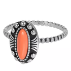 IXXXI JEWELRY RINGEN iXXXi Jewelry Washer Indian Coral 2mm Silver colored
