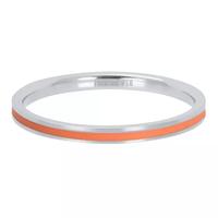 IXXXI JEWELRY RINGEN iXXXi Jewelry Vulring Line Coral  2mm Zilverkleurig