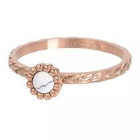IXXXI JEWELRY RINGEN iXXXi Jewelry Vulring Inspired White  2mm Rosegoudkleurig