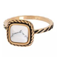 IXXXI JEWELRY RINGEN iXXXi Jewelry Washer Summer White 2mm Gold