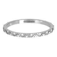 IXXXI JEWELRY RINGEN iXXXi Jewelry Vulring Bohemian White  2mm Zilverkleurig