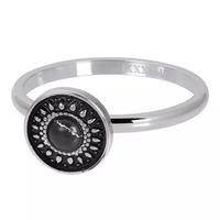 IXXXI JEWELRY RINGEN iXXXi Jewelry Washer Vintage Black 2mm Silver colored