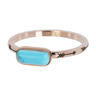 IXXXI JEWELRY RINGEN iXXXi Jewelry Washer Festival Turquoise 2mm Rose gold colored