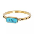 IXXXI JEWELRY RINGEN iXXXi Jewelry Washer Festival Turquoise 2mm Gold