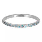 IXXXI JEWELRY RINGEN iXXXi Jewelry Vulring Bohemian Aqua  2mm Zilverkleurig