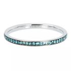 IXXXI JEWELRY RINGEN iXXXi Vulring 0.2 cm Smal Zirkonia Bohemian Aqua Silver