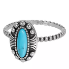 IXXXI JEWELRY RINGEN iXXXi Jewelry Washer Indian Turquoise 2mm Silver colored