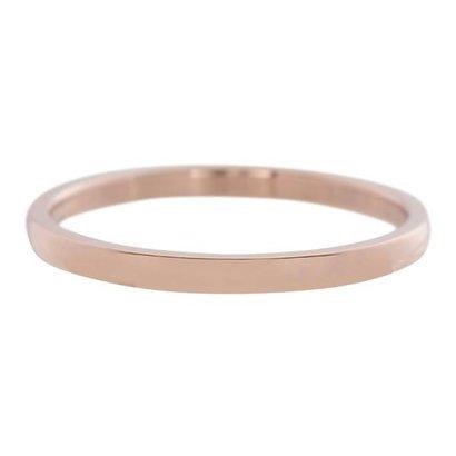 IXXXI JEWELRY RINGEN iXXXi Washer 0.2 cm Stahl Shiny Rose farbigen Smal
