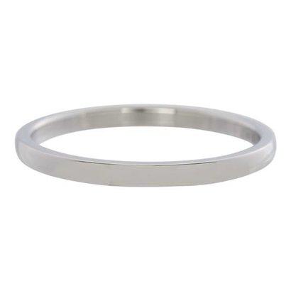 IXXXI JEWELRY RINGEN iXXXi Vulring 0.2 cm Staal Shiny Zilverkleurig Smal
