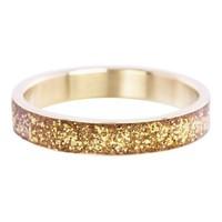 IXXXI JEWELRY RINGEN iXXXi Washer Glitter Gold