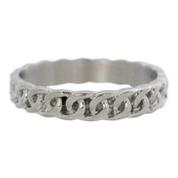 IXXXI JEWELRY RINGEN iXXXi Jewelry Washer 0.4 cm Shiny Steel Curb Chain Silver