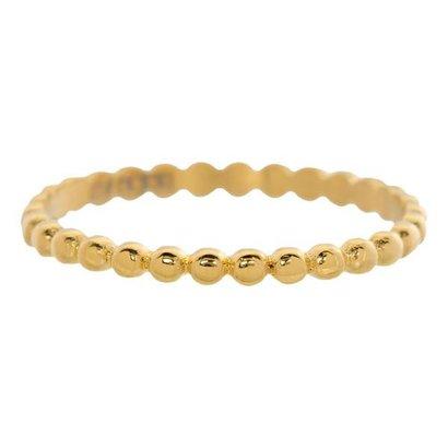 IXXXI JEWELRY RINGEN iXXXi Jewelry Vulring 0.2 cm Staal Bolletjes Gold