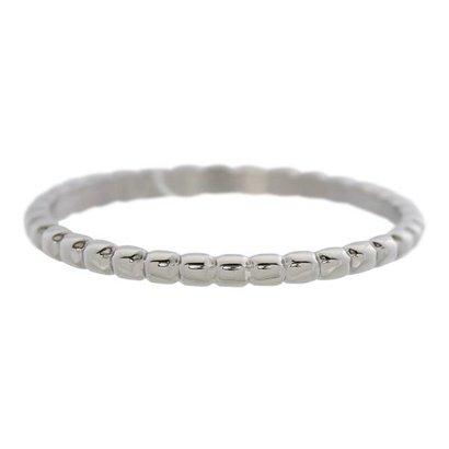 IXXXI JEWELRY RINGEN iXXXi Jewelry Vulring 0.2 cm Staal Bolletjes Silver