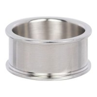 IXXXI JEWELRY RINGEN iXXXi Basisring 1.0cm Zilverkleurig