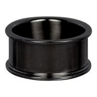 IXXXI JEWELRY RINGEN iXXXi Grund Ring 1.0cm Schwarz