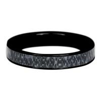 IXXXI JEWELRY RINGEN iXXXi Jewelry Vulring 0.4 cm Staal Blue Jeans Black