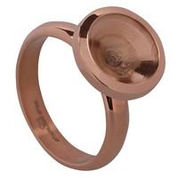 OHLALA TWIST Ohlala.OHR57 Chocokleurige Ohlala ring