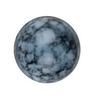 OHT Cabochon Transparant Blauw Gemeleerd