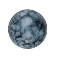 OHT Transparente Cabochon blau gesprenkelt