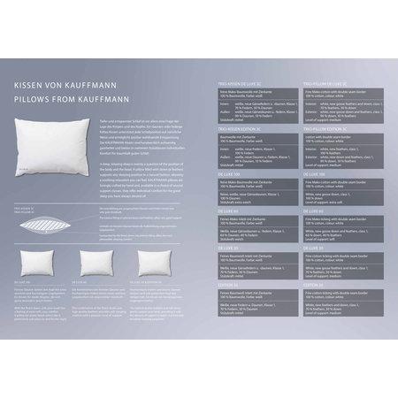 Kauffmann 3 kamer donzen hoofdkussen Edition