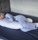 Fossflakes Fossflakes Comfort-C | Körperkissen | inkl. Jersey Bezug